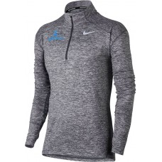 Lakeridge Baseball 23: Nike Element Women's Long Sleeve Running Half-Zip Top - Gray