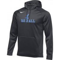 Lakeridge Baseball 20: Nike Therma Men's Training Hoodie - Anthracite Gray
