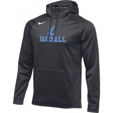 Lakeridge Baseball 20: Nike Therma Men's Training Hoodie - Anthracite Gray