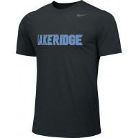 Lakeridge Baseball 37: Spare Jersey: Rookie/Slugger/T-Ball - Adult Size - Nike Team Legend Short-Sleeve Crew T-Shirt - Black