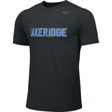 Lakeridge Baseball 37: Spare Jersey: Rookie/Slugger/T-Ball - Adult Size - Nike Team Legend Short-Sleeve Crew T-Shirt - Black